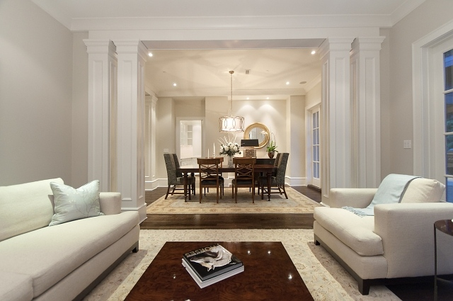You Might Notice A Theme While Browsing These Dining Room Ideas. Dining  Table + Expensive, White Rug Underneath. Itu0027s An Elegant Thought, But Weu0027re  Sloppy ...
