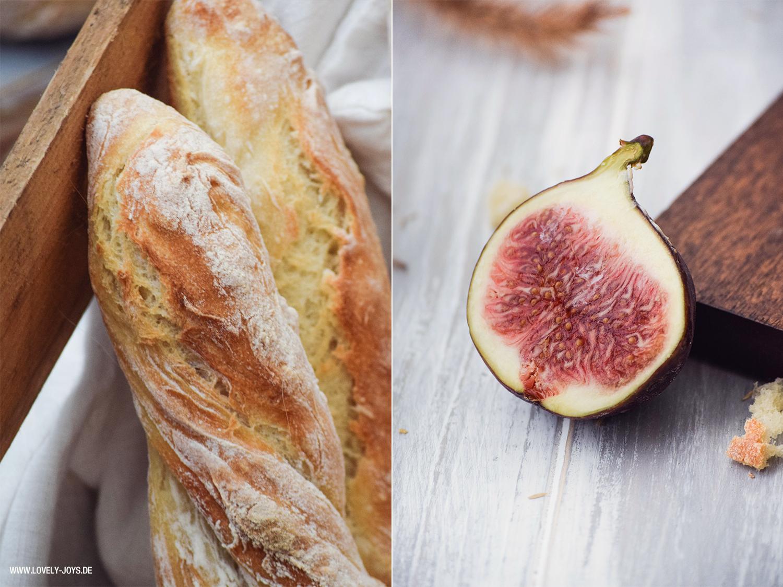 Baguettes Backen Rezept Paris Rusitkal frische Feige