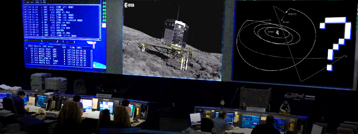 Philae perde contato com a Terra