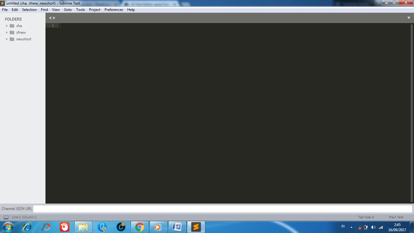 aplikasi text editor sublime text