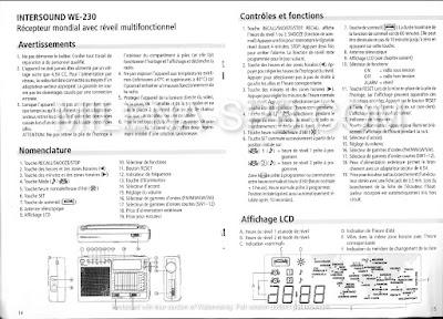NOTICE SCHEMA INTERSOUND WE230