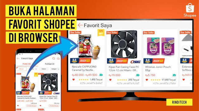 Halaman Wishlist Shopee Bisakah Dibuka di PC & Laptop?