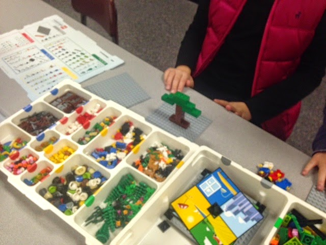 The Curious Librarian: Maker Monday: LEGO Story Starters