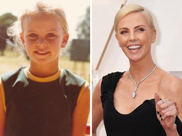 Fotos escolares de actores y actrices famosos