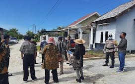 Anggota Reskrim Polsek Pahandut Laksanakan Pengamanan Pemeriksaan Sidang Setempat di Jalan Adonis