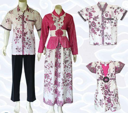 10 Model Baju Batik Keluarga Modern Terbaru 2017