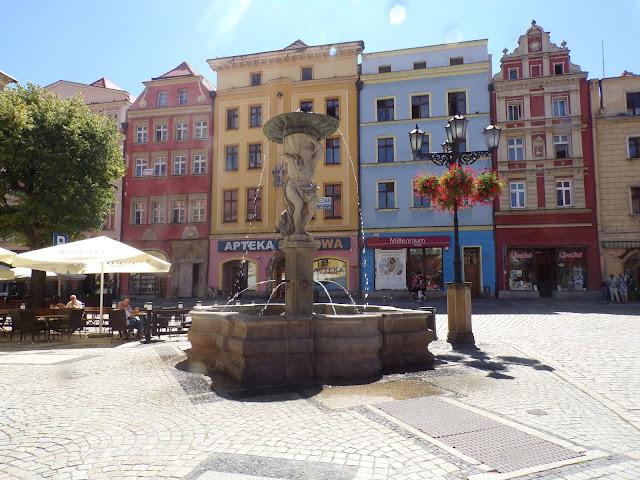 plaza del mercado Swidnica