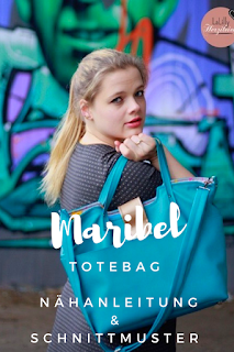 Maribel und Marisol, die ineinander knöpfbaren Handtaschen zum selber nähen, kann man auch als Laptoptasche nähen und verwenden. Die Taschen werden mit Druckknöpfen ineinander verbunden sodass Marisol, die schlichte Crossbodybag, ein zusätzliches Fach in Marisol, der klassischen Totebag bildet, in dem der Laptop gut geschützt ist. Die Taschen passen für ein 13-Zoll-Macbook und ähnlich große Laptops ohne Anpassungen.