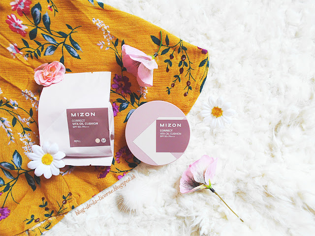 Mizon Correct Vita Oil Cushion Foundation SPF50+