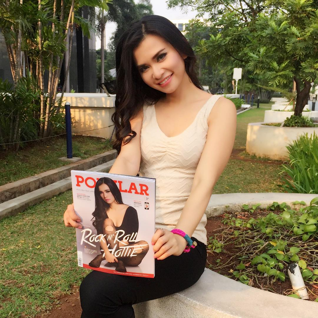 Image Result For Maria Vania Model Cover Popular Juli
