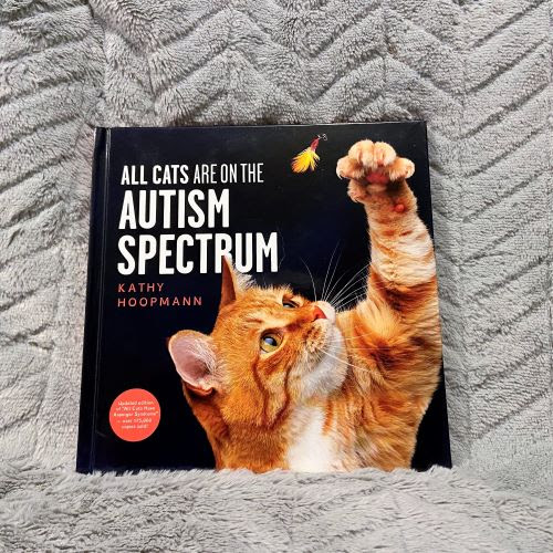 Front cover of book All cats are on the autism spectrum
