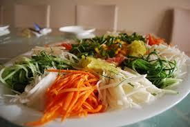 Cold Peanut, Noodle, and Vegetable Salad