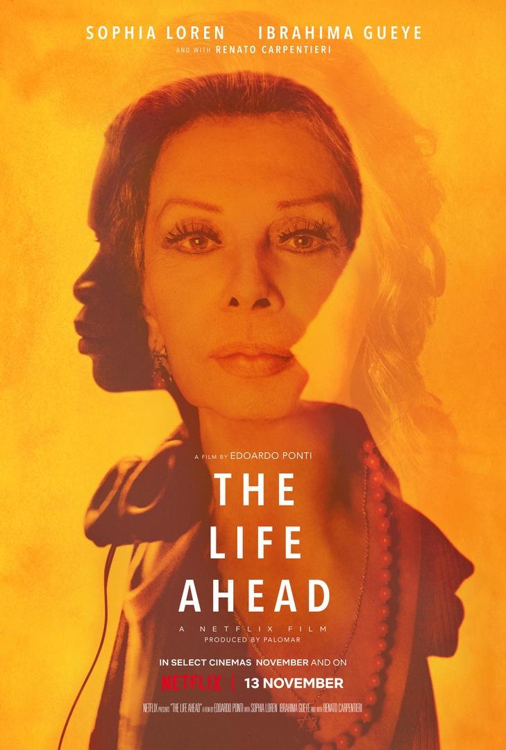 the life ahead sophia loren netflix poster