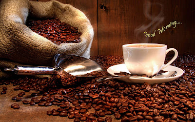 lovelymorning-with-coffe-beans-images