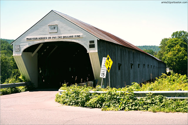 Cornish-Windsor Covered Bridge en New Hampshire