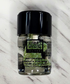 Review: Erno Laszlo Antioxidant Complex for Eyes, Pore Refining Detox Double Cleanse, and White Marble Dual Phase Vitamin C Peel