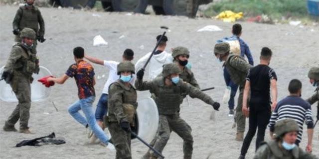 أمنيستي: لا يمكننا قبول تعرض الأطفال للضرب على أيدي القوات الإسبانية