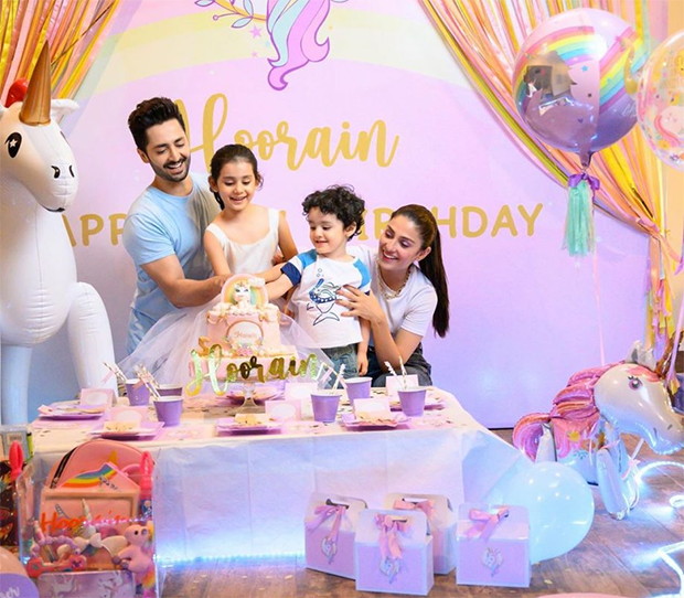 ayeza khan children birthdays