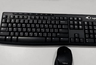 Gambar Keyboard Wireless Logitech K270