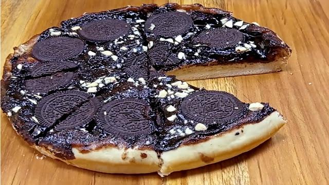 chocolate pizza very easy recipe