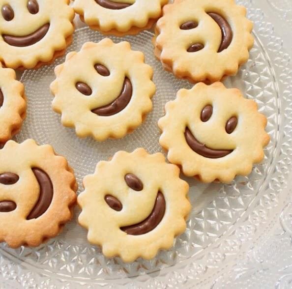 Azzuchef biscotti di pasta frolla farciti alla nutella - Immagini di marmellata di animali a colori ...
