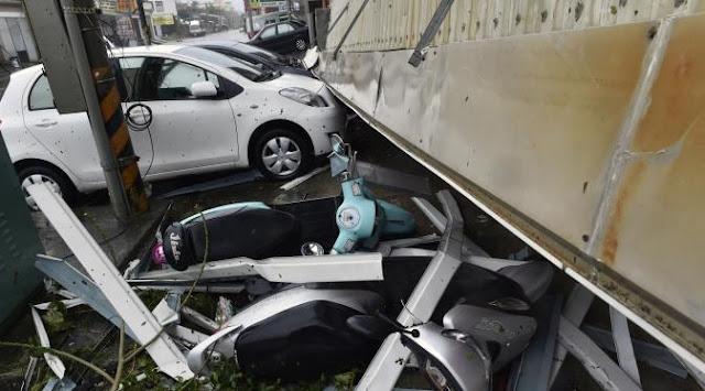 Topan Nisha Menghancurkan 38 Sekolah Dengan Kerugian Mencapai NT$ 8 Juta/ 3,5 M