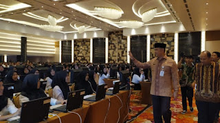 Walikota Jambi Syarif Fasha Beri Support pada Peserta CPNS