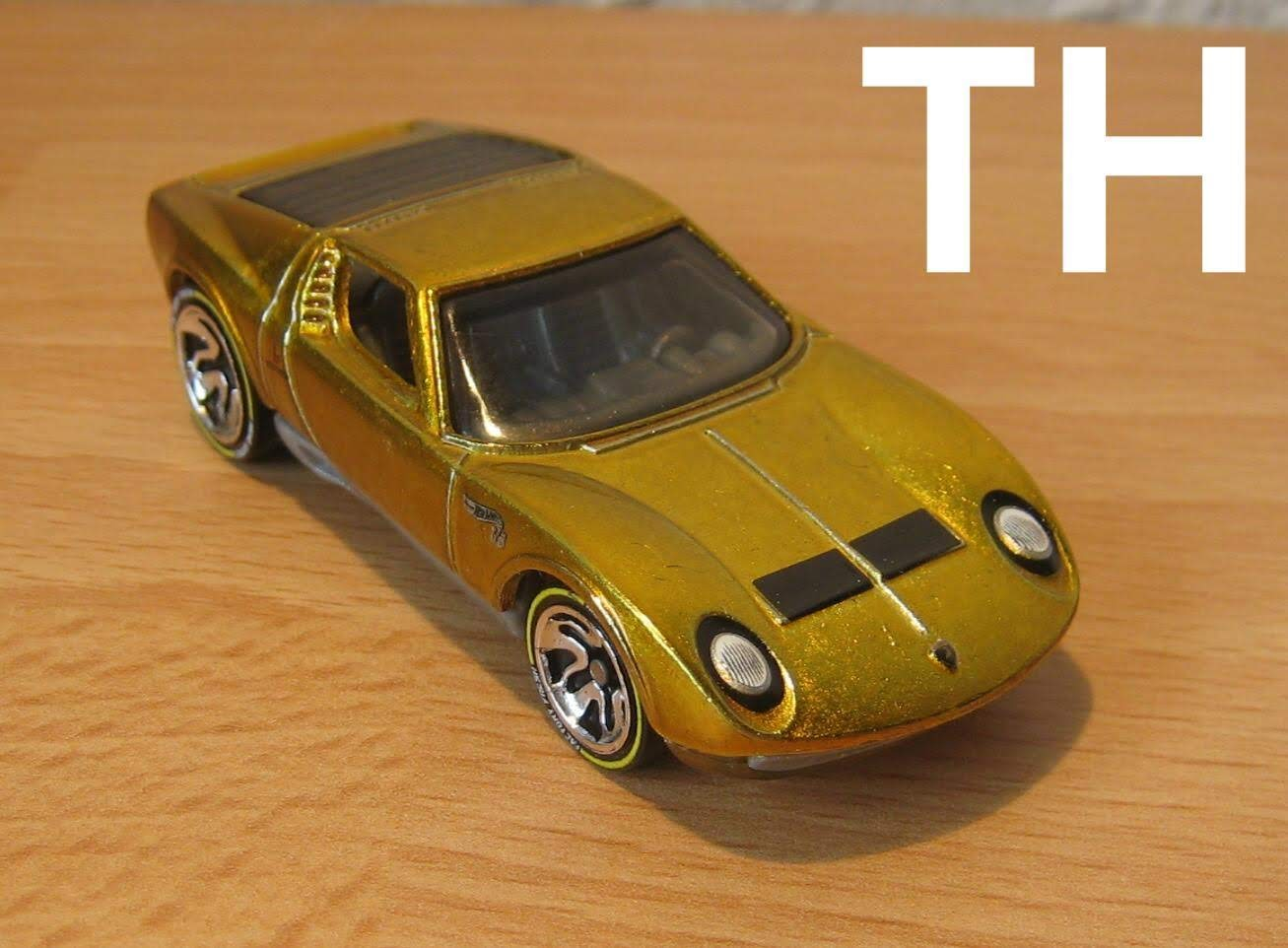 Hot Wheels Id Lamborghini Miura Sv 71 Grün Limitierte Auflage 1//64