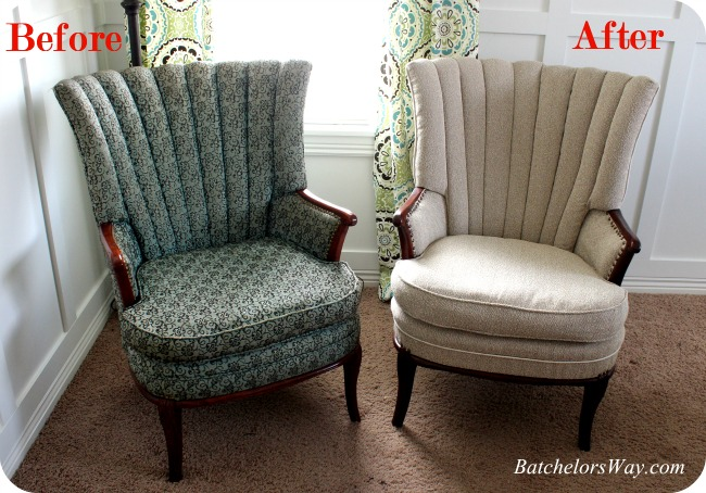 Piped Chair ReUpholstered by Batchelor's Way