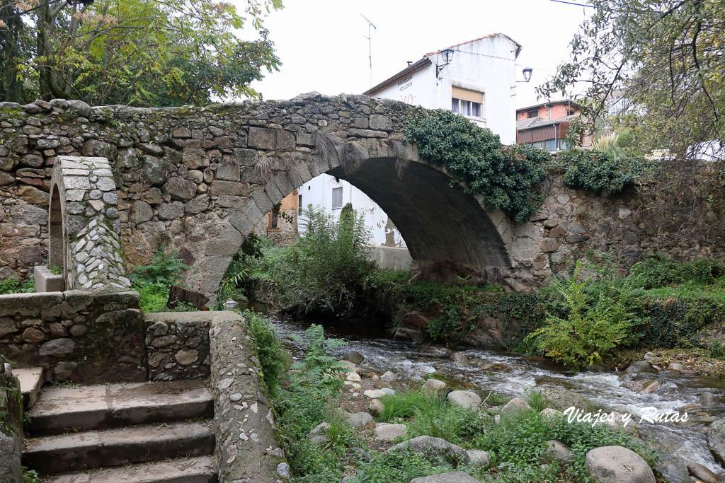 Puente medieval sobre el río Ambroz, Hervás
