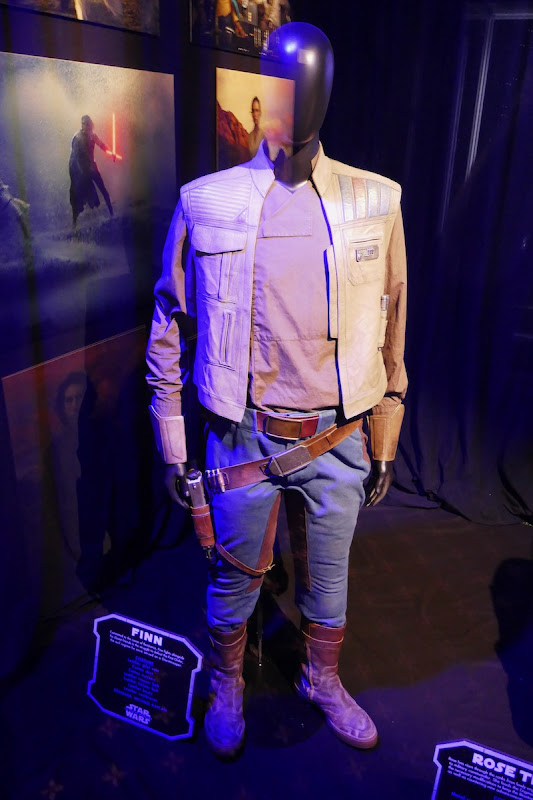 John Boyega Star Wars Rise Skywalker Finn film costume