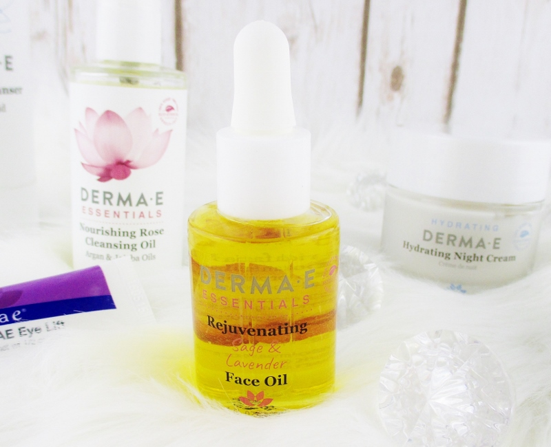 My Favorite Drugstore Winter Complexion Care for Dry and Mature Skin from Derma-E Revitalizing Face Oil