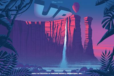 Up Screen Print by Matt Griffin x Bottleneck Gallery