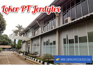 Lowongan Kerja PT Jerdytex Terbaru 2020