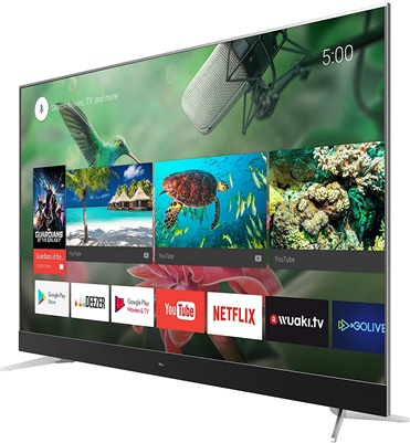 TCL U49C7006: Smart TV 4K de 49'' con Android TV, altavoces JBL y tecnología Wide Color Gamut