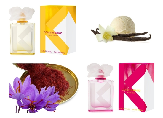 ee81789b NEWS] Kenzo Couleur Kenzo Rose-Pink i Jaune-Yellow - Nez de Luxe