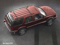 Chevy Blazer 1995 amt/ertl 1/25 plastic model kit