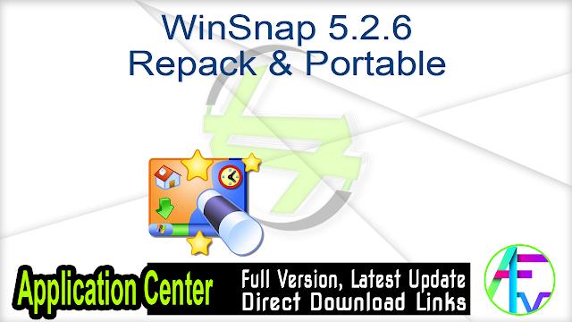 WinSnap 5.2.6 Repack & Portable