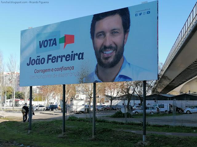 CARTAZ - JOÃO FERREIRA