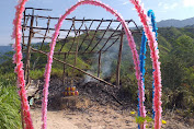 Kawasan Wisata Grapella Terbakar, 5 Pondok Hangus Dilalap Api