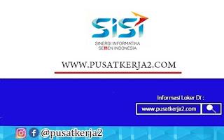 Lowongan Kerja PT Sinergi Informatika Semen Indonesia Oktober 2020