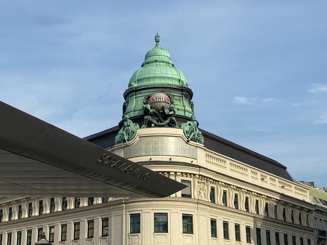 vista dal museo albertina