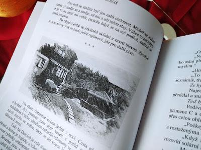 Ilustrace v knize První muž (Lenka Křížová, nakladatelství Nová Forma)