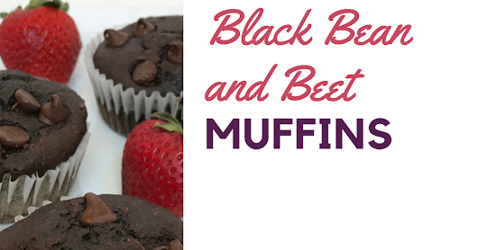 Black Bean and Beet Muffins (Kid Approved)
