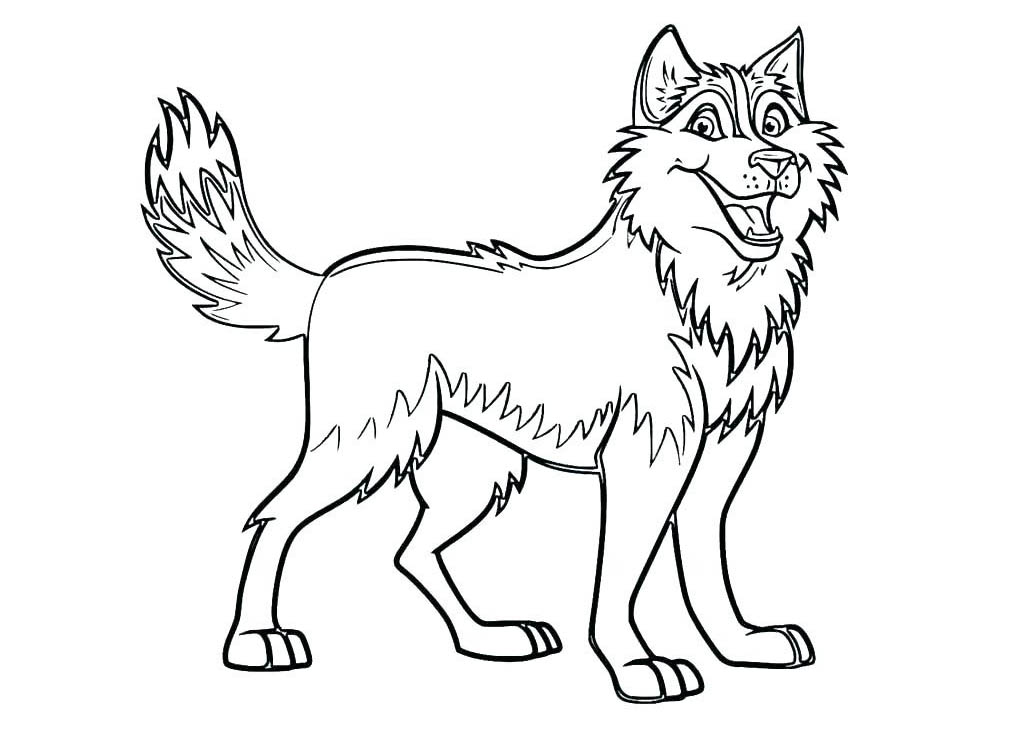 Dogs coloring pages 68