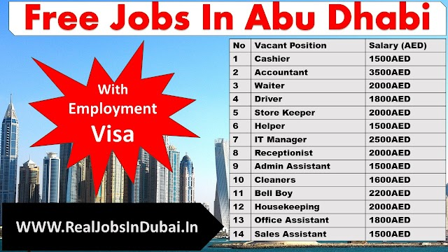Latest New Jobs In Abu Dhabi - UAE 2021