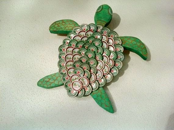 Beer Bottle Cap Craft Project Creative Art And Craft Ideas