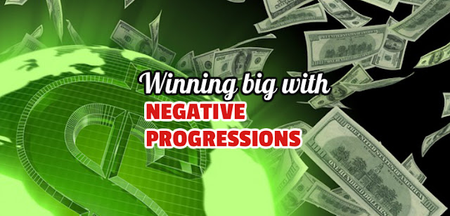 How to properly use negative progressions.
