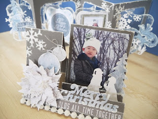 be merry ステップ式立体カード