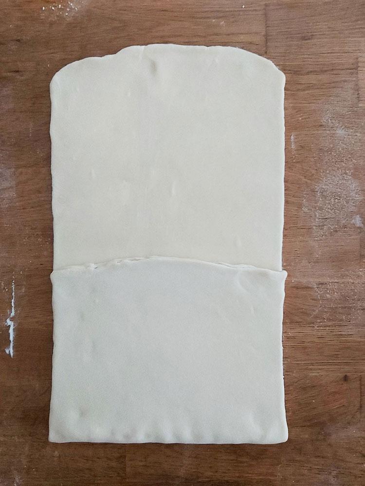 Pliage de la pâte feuilletée